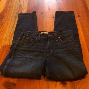 Madewell Jeans Slim Straight - Size 27 dark wash
